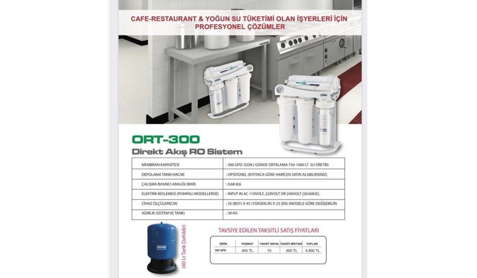 ORTİMAX ORT-300 RO SİSTEM-2
